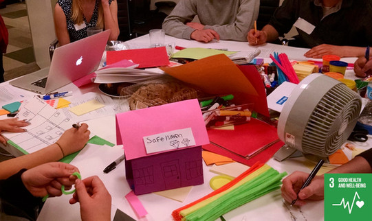 Co-designing with high school students to combat addiction