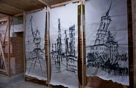 Вид экспозиции. Открывая Сибирь. Пробежки вокруг Тобольска. Москва