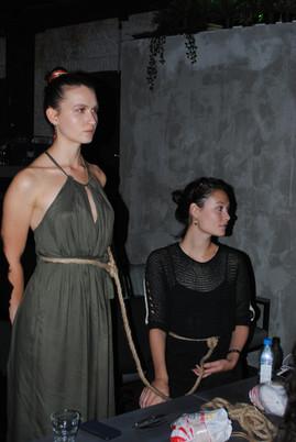 Лекция-перфоманс Дарьи Демехиной и Кати Ганюшиной