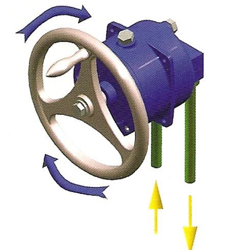 Hydrauliohjaus, Hydraulstyrning, Hydraulic steering Steering Power
