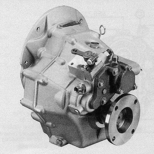 Merikytkin TM 345, Backslag, Marine gearbox TM 345