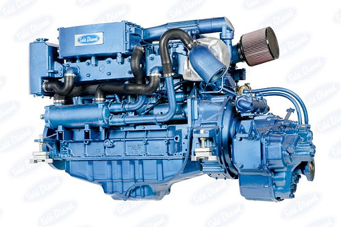 Solé Diesel SDZ-280 merimoottori, marinmotor, marine diesel engine SDZ-280