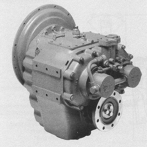 Merikytkin TM 360, Backslag, Marine gearbox TM 360