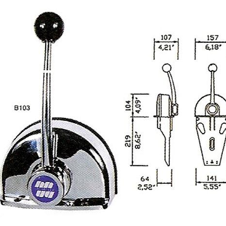 Kaukosäätölaite B103, Fjärrkontroll, Remote control B103 Ultraflex
