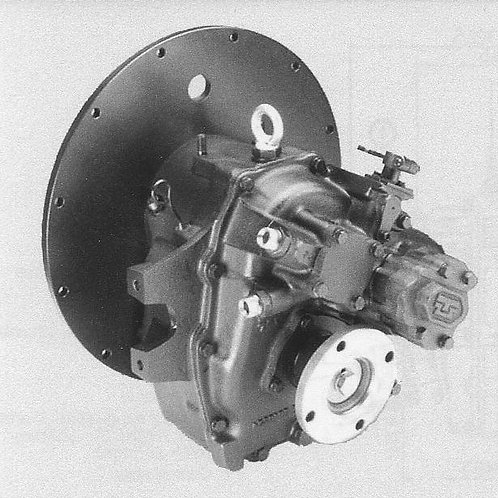 Merikytkin TM 93A, Backslag, Marine gearbox TM 93A TechnoDrive