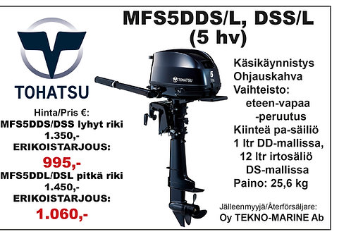 Tohatsu MFS5DD & DS