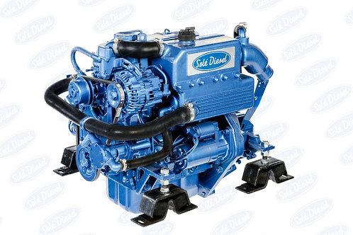 Solé Diesel MINI-33 merimoottori, marinmotor, marine diesel engine MINI-33