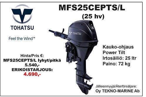 Tohatsu MFS25CEPTS/L