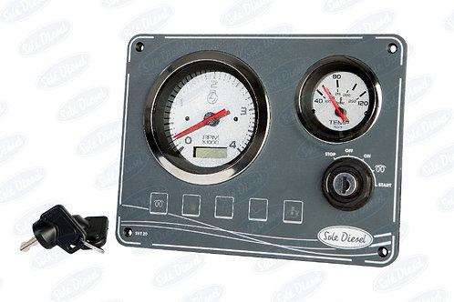 Solé uusi mittaripaneeli, ny instrumentpanel, New Instrumentpanel Solé Diesel