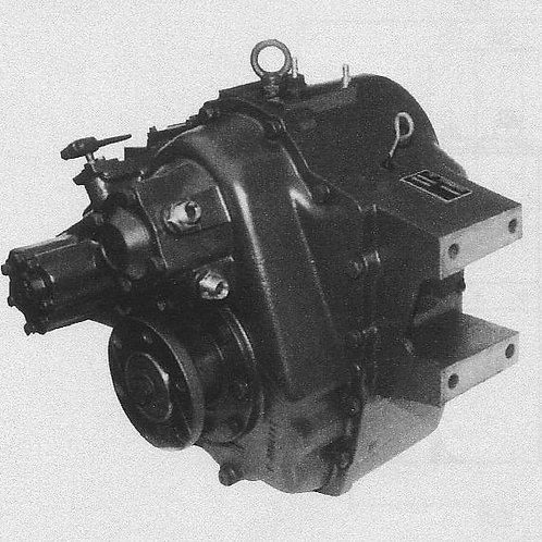 Merikytkin TM 265A, Backslag, Marine gearbox TM-265A TechnoDrive