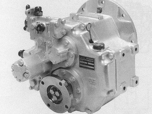 Merikytkin TM 485A1, Backslag, Marine gearbox TM-485A1 TechnoDrive
