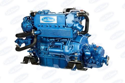 Solé Diesel MINI-55 merimoottori, marinmotor, marine diesel engine MINI-55