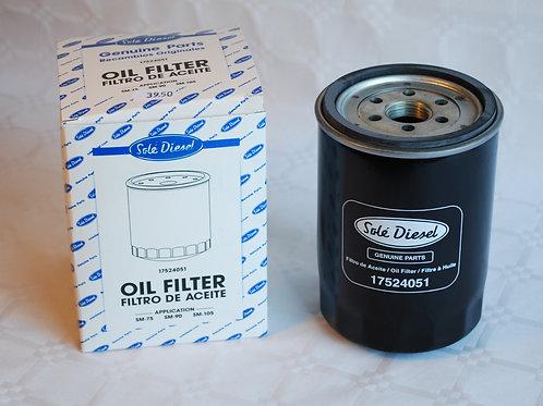 Öljynsuodatin Solé SM-75, SM-90, SM-105 Oljefilter, Oilfilter