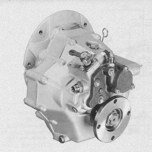 Merikytkin TM 345A, Backslag, Marine gearbox TM 345A