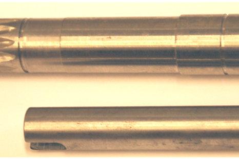 Merivesipumpun akseli Bukh, Vattenpumpens axel, Waterpump's shaft Bukh