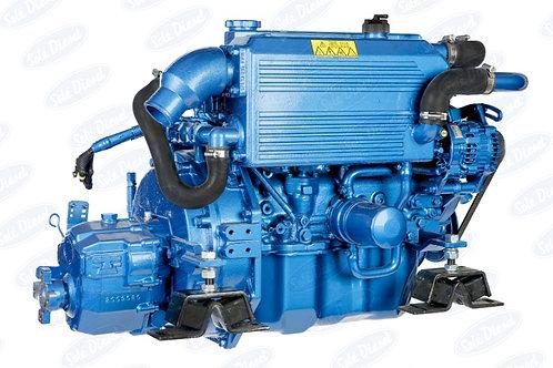 Solé Diesel MINI-62 merimoottori, marinmotor, marine diesel engine MINI-62