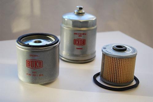 Polttoainesuodatin Bukh DV24, 29, 32, DV36, DV48, bränslefilter, fuel filter