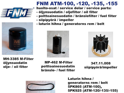 FNM ATM-100/120/135/155 huoltosetti, Service kit