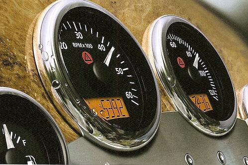 VDO View Line kierrosluku/tuntimittari, Varvräknare, Rpm counter gauge VDO