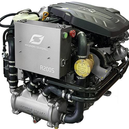 Hyundai SeasAll R-200 meridiesel, marindiesel, marine engine Hyundai R-200