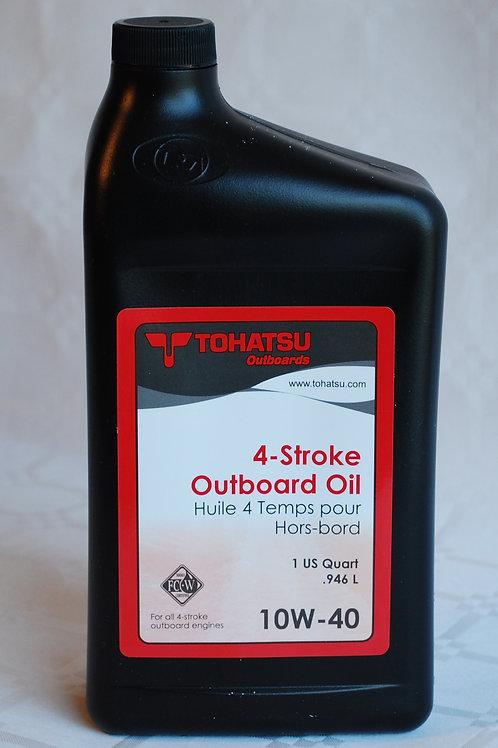 Perämoottoriöljy 4-tahti, 4-stroke outboard oil