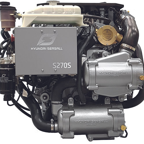 Hyundai SeasAll S-270 meridiesel, marindiesel, marine engine Hyundai S-270