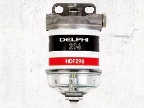 Polttoaine/vedenerottaja HDF296, Fuel/water separator