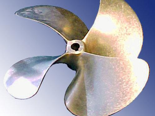"""Potkuri SRX 4-lapa d. 50 mm ja 60 mm akselille, d. 25"""", Propeller SRX 4-blade"""