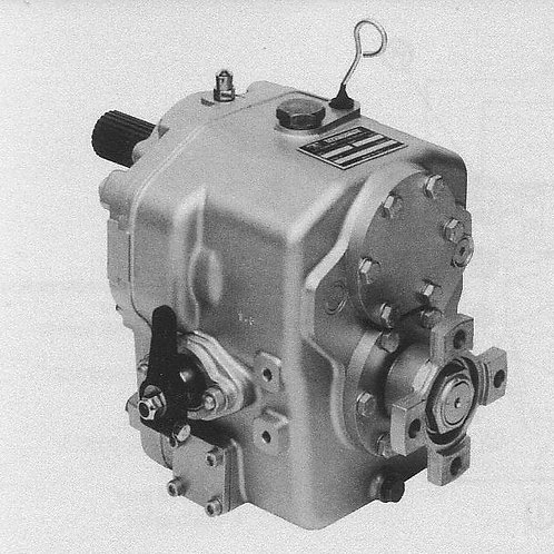 Merikytkin TMC 260, Backslag, Marine gearbox TMC 260