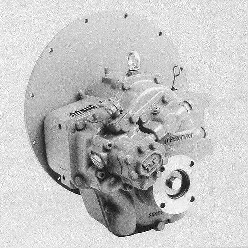 Merikytkin TM 170, Backslag, Marine gearbox TM-170 TechnoDrive