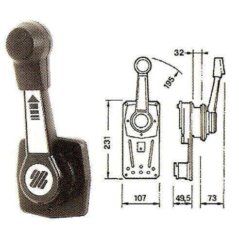 Kaukosäätölaite B90, Fjärrkontroll, Remote control B-90 Ultraflex