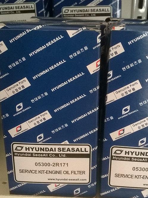 Öljynsuodatin Hyundai SeasAll R-200, oljefilter, oilfilter