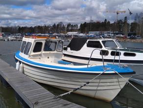 Vaihtovene Fiskari 25 vesillä