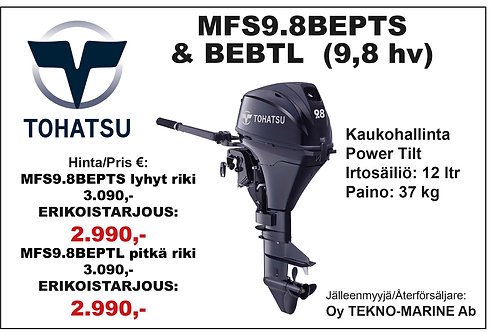 Tohatsu MFS9.8BEPTS & TL