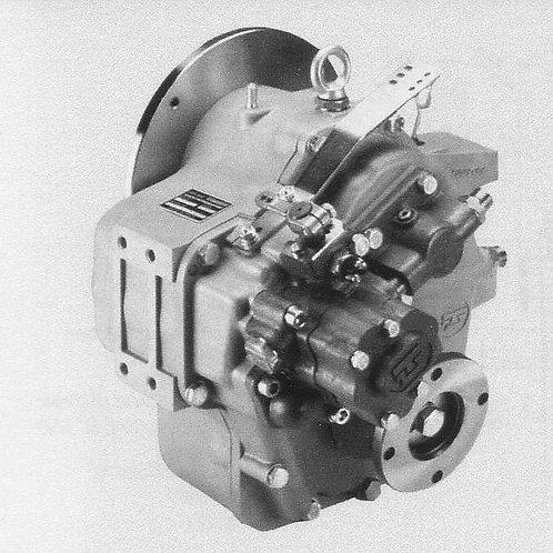 Merikytkin TM 880A, Backslag, Marine gearbox TM-880A TechnoDrive