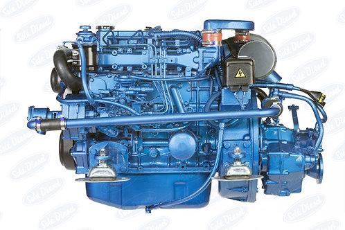 Solé Diesel SM-82 merimoottori, marinmotor, marine diesel engine SM-82