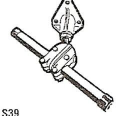 Ohjaus - asennusosat peräpeilikiinniikeet Ultraflex, Styrning, Steering