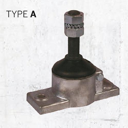 Solé kumityyny tyyppi A, gummikudde Solé typ-A , Solé engine mount  A-type