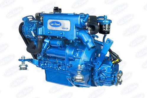 Solé Diesel MINI-29 merimoottori, marinmotor, marine diesel engine MINI-29
