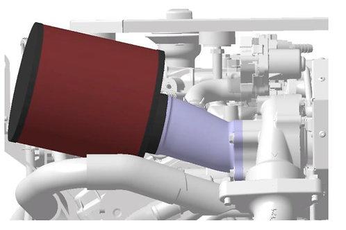 Ilmansuodatin Hyundai SeasAll, luftfilter, air filter