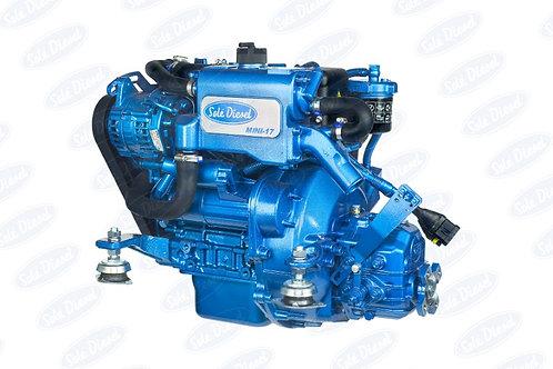 Solé Diesel MINI-17 merimoottori, marinmotor, marine diesel engine MINI-17