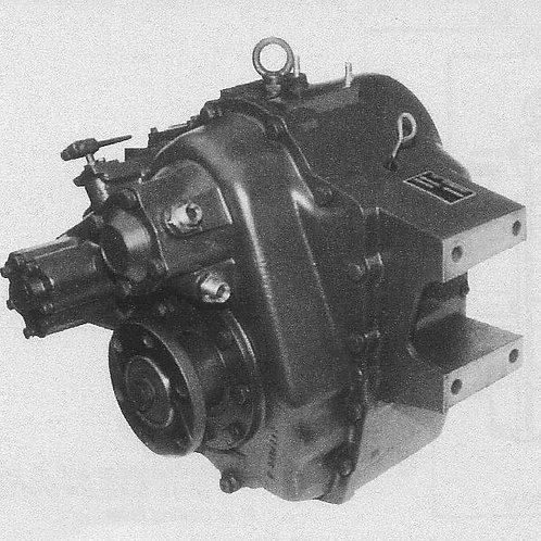 Merikytkin TM 265, Backslag, Marine gearbox TM-265 TechnoDrive