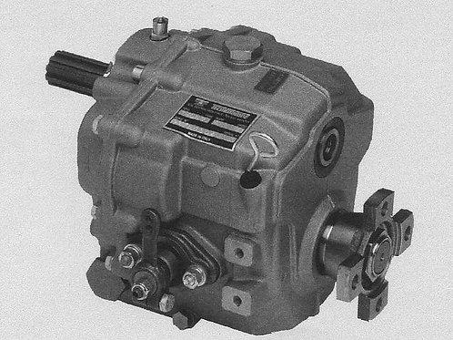 Merikytkin TMC 60P, Backslag, Marine gearbox TMC60P