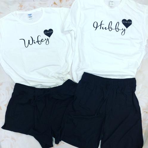 391207bb0d Hubby Wifey pyjamas set