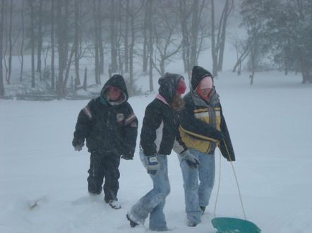 Winter at Kentucky Farms