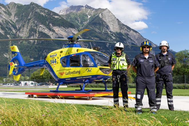 Crew von Christoph Liechtenstein