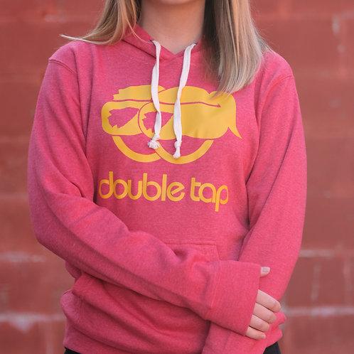 DoubleTap KC Red & Gold Hoodie