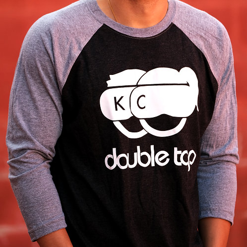 DoubleTap KC Black and Gray 3/4
