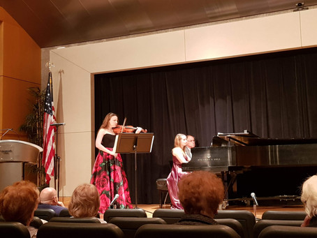 Russian Duo is performing at UMC.