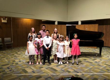 CMS All-school recital on Sat April 27th.